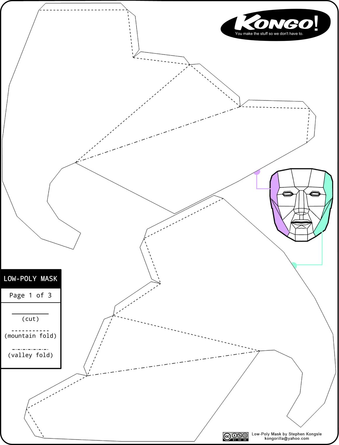Máscaras en papel | Recursos en la web